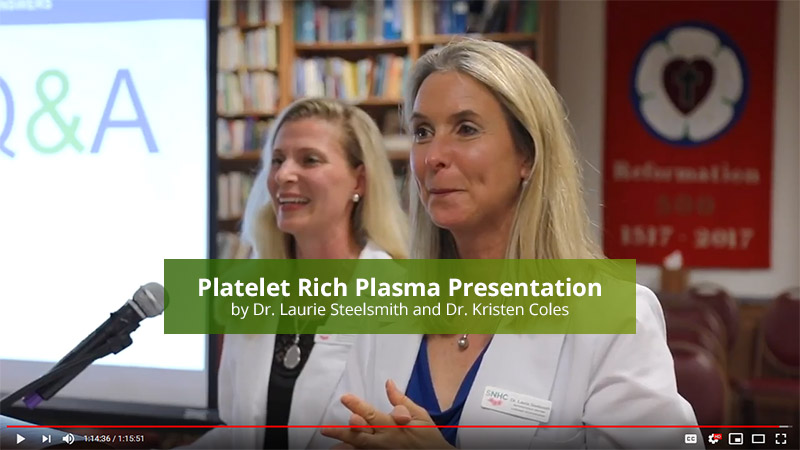 Platelet Rich Plasma Presentation video