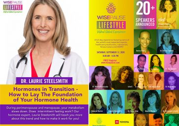 Dr. Steelsmith Speaks at WisePause Lifestyle Virtual Global Experience